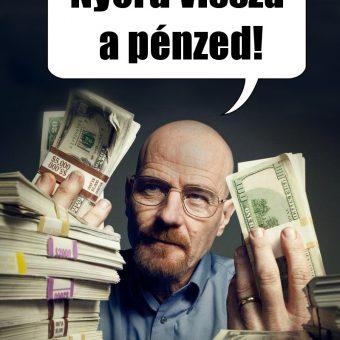 Évszaknyitó akció! Nyerd vissza a pénzed!